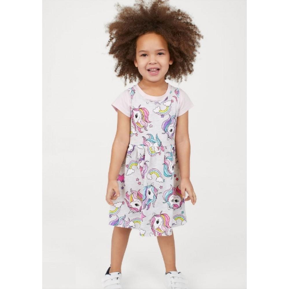 Купить Платье H&M  без рукавов в единороги (04583) в Украине