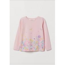 Реглан H&M с цветами (04783)