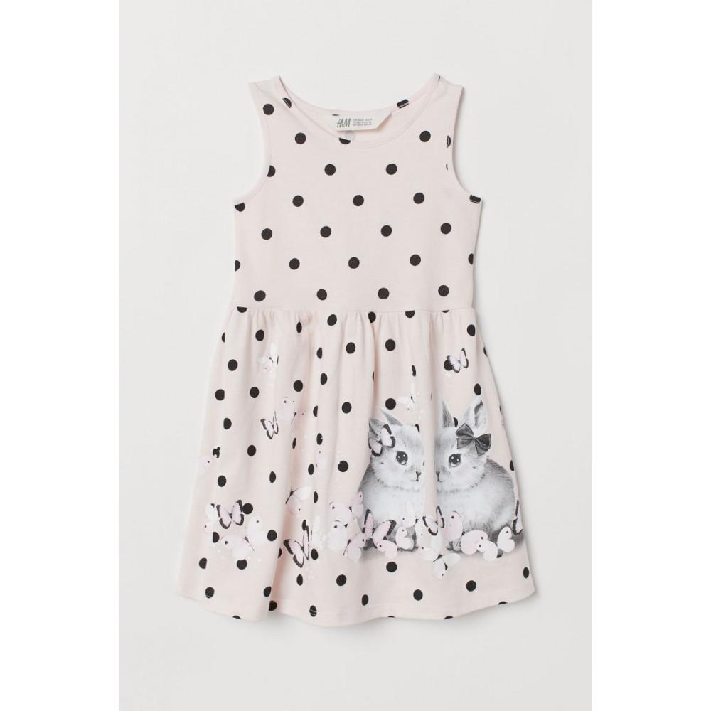 Купить Платье H&M в горошек с кроликами (05075) в Украине