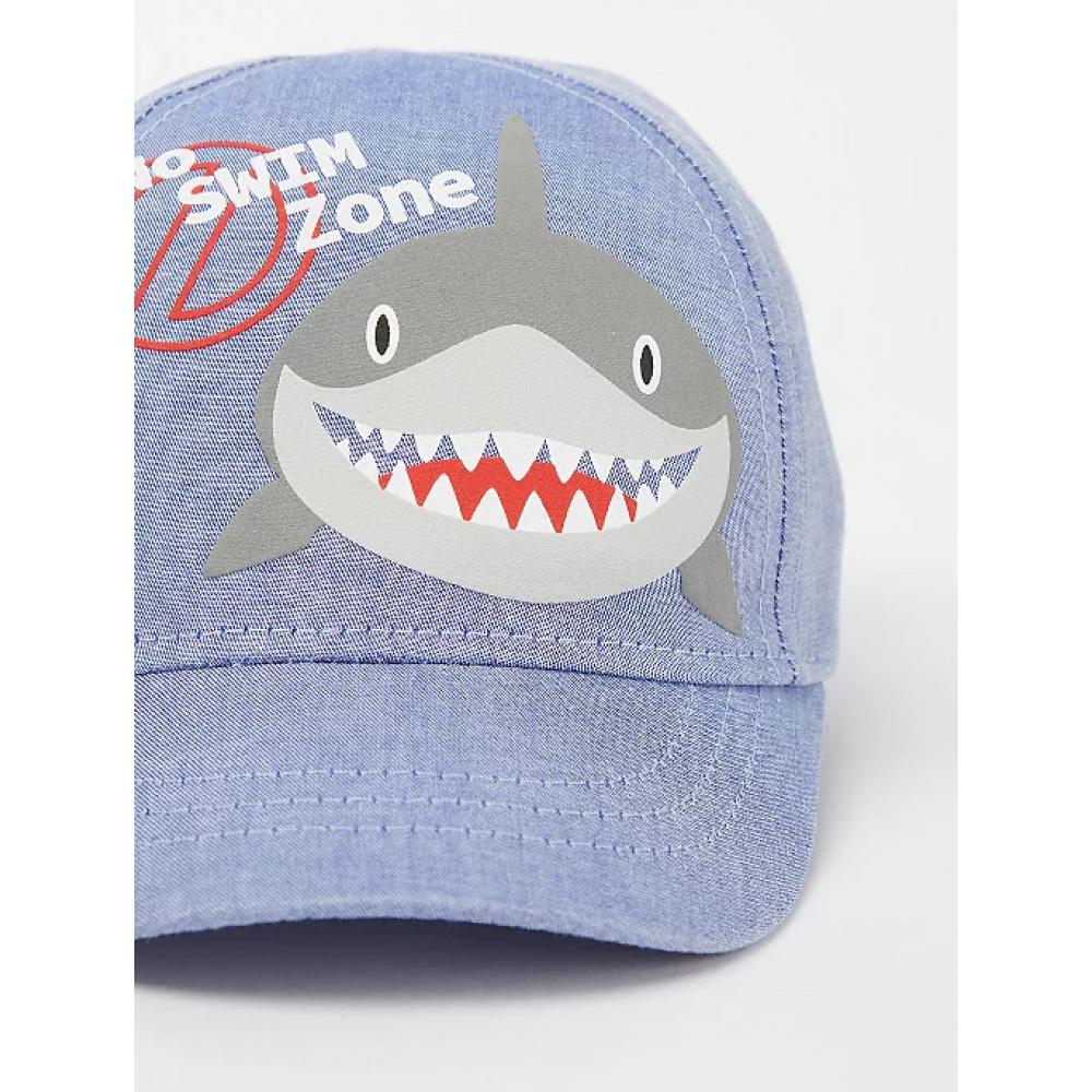"Панамка и кепка George ""Blue Shark Bucket"" (05308)"