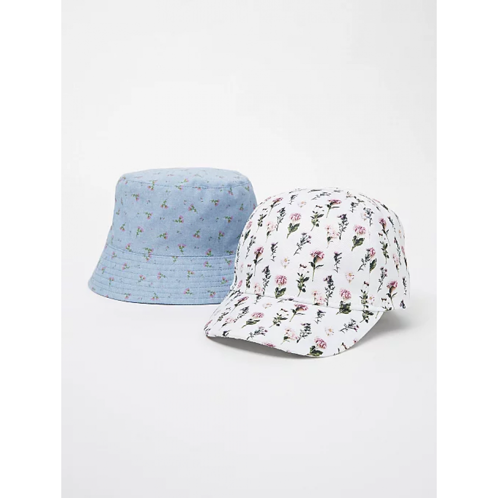 """Панамка и кепка George """"Blue Floral Bucket"""" (05309)"""