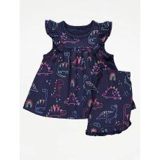 """Комплект футболка-туника и шорты George """"Dinosaur"""" (05324)"""