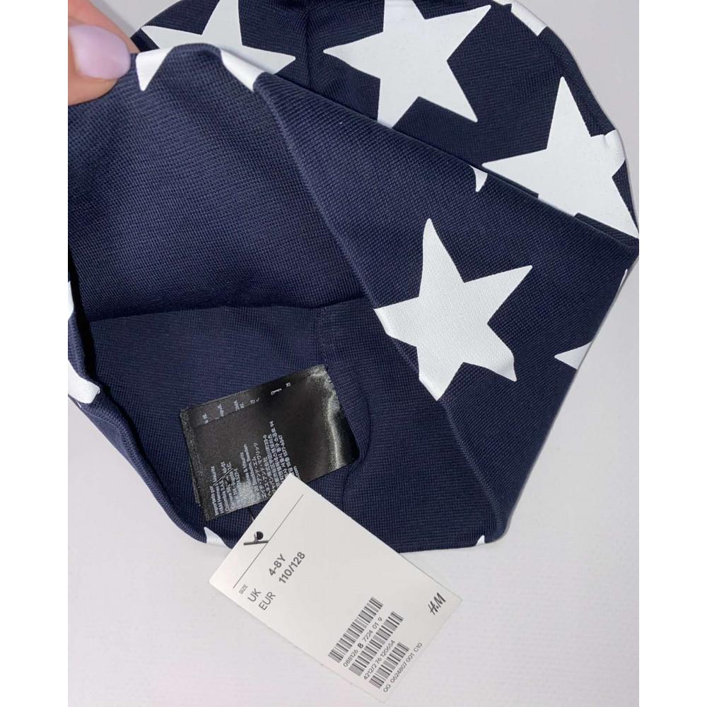 Темно-синяя шапка H&M (05355)